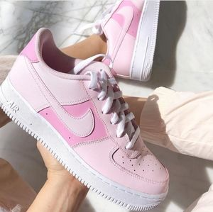New Nike Air Force 1 Pink